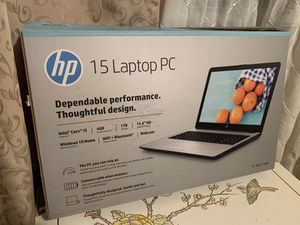 Hp 15 laptop pc New In box for Sale in Bedford Park, IL