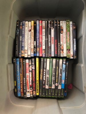 DVDs and video games all of them for $20 for Sale in Lakeside, AZ