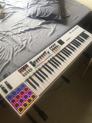 M-Audio Code 61 Keyboard White for Sale in New York, NY