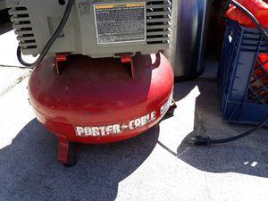 Porter Cable Air Compressor for Sale in Sacramento, CA