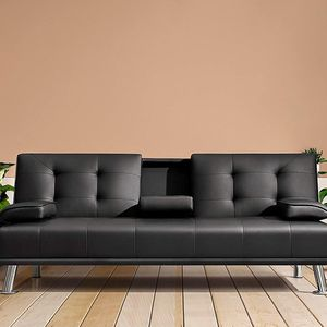 $190 New In Box Convertible Folding Futon Sofa Bed Recliner Couch 65x30x31 Inches, Max 500 Lbs for Sale in Los Angeles, CA