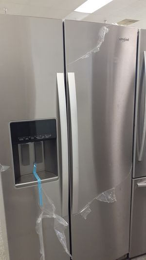 Whirpool refrigerator new side by side for Sale in Haines City, FL