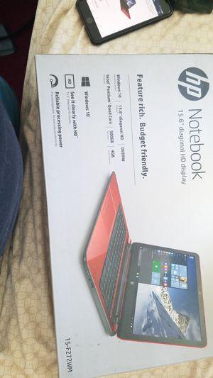 Hp notebook 15-f272wm for Sale in Fontana, CA