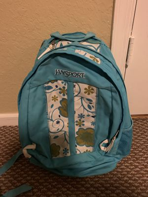JANSPORT double zipper backpack for Sale in Pembroke Pines, FL