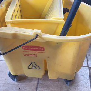 rubbermaid mop bucket for Sale in Winter Haven, FL