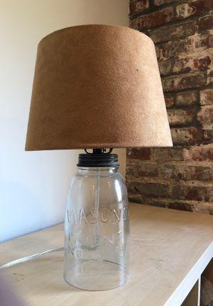 Mason Jar Lamp for Sale in Brooklyn, NY