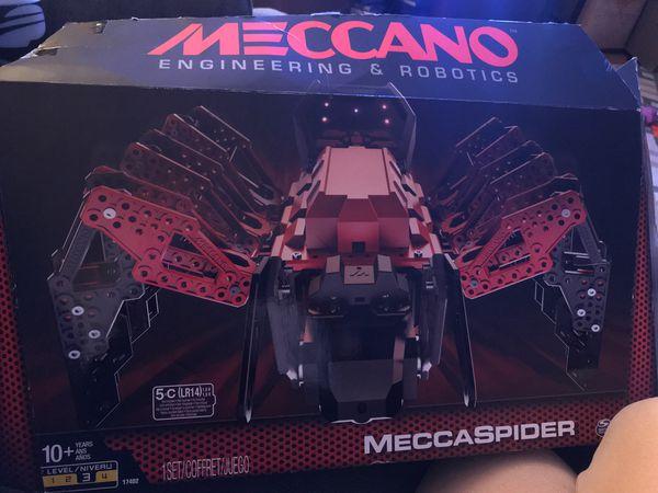 Brand new unopened Meccano Robotic Spider, Great Christmas present !!!