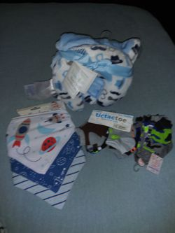 Baby boy bundle NEW items with tags. Great for baby shower gifts! for Sale in undefined