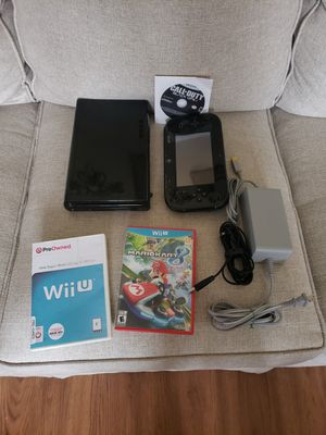 nintendo wii u and games for Sale in Dallas, TX