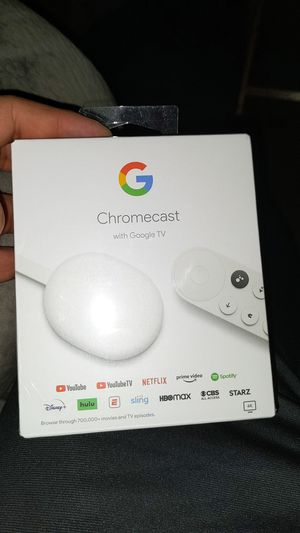 Chromecast with google tv for Sale in Woodburn, OR
