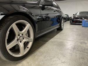 Mercedes Benz AMG 19 inch wheels stagger set for Sale in West Palm Beach, FL