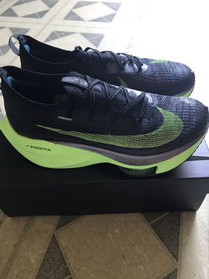 Nike Air Zoom Alphafly Next% Electric Green Size 9 for Sale in Fullerton, CA