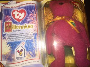 Millennium and The End beanie babies in original box for Sale in Baltimore, MD