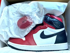 Jordan 1 red satin for Sale in Chicago, IL