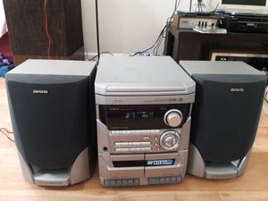 aiwa CX-NA115 DIGITAL AUDIO SYSTEM with speakers for Sale in South Riding, VA