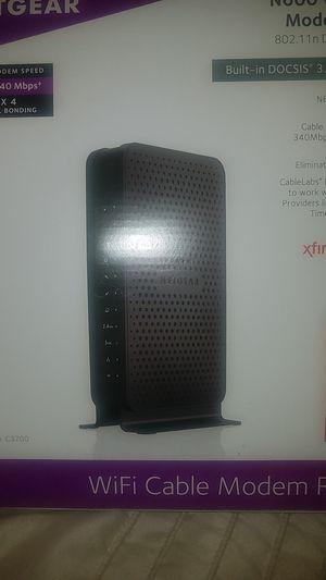 Netgear wifi Modem Router for Sale in Chicago, IL