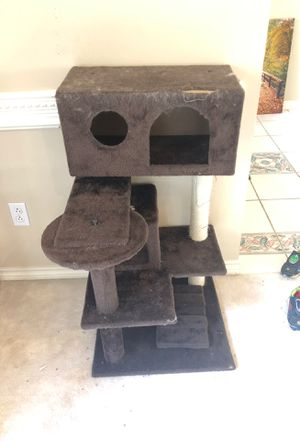 Used kitty tower for Sale in Beaumont, TX