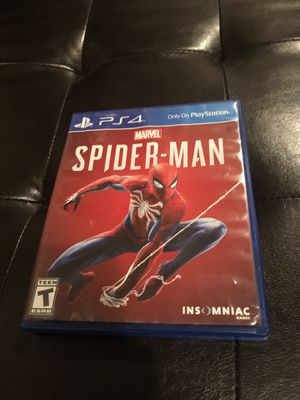 Spider man for ps4 for Sale in Vancouver, WA