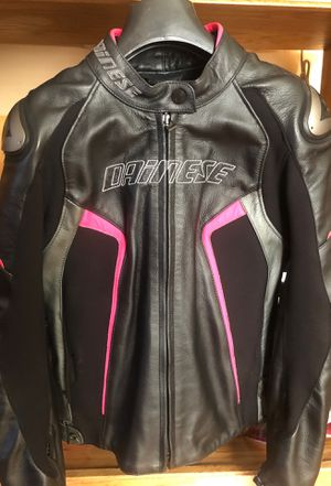 Dainese racing 3 women's leather jacket for Sale in Santa Maria, CA
