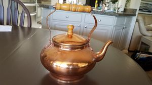 Copper tea pot for Sale in Scottsdale, AZ