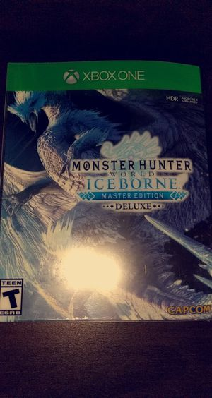 [Brand New] MHW: Iceborne Master Edition Deluxe [Xbox One] for Sale in Huntington Beach, CA