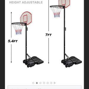 Adjustable Junior Basketball Hoop Ages:7-12 for Sale in Oakland, CA