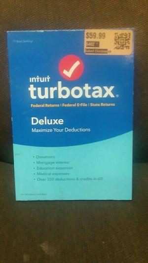 turbo tax DELUXE for Sale in Zachary, LA