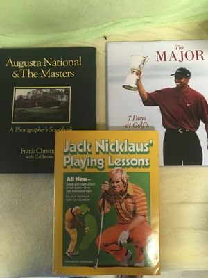 3 golf books all for $5.00 for Sale in New Smyrna Beach, FL