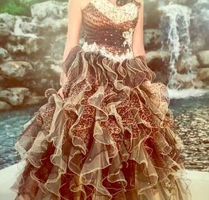 Cheetah Print Sweet Sixteen Quinceanera Prom Dress for Sale in Miami, FL