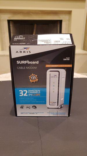 ARRIS Gigabit Cable modem SB6190, internet modem. Xfinity. Comcast. Charter. for Sale in Roswell, GA