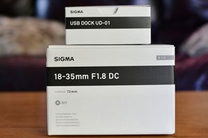 Sigma 18-35mm F1.8 DC for Nikon (Excellent condition) for Sale in Mountain View, CA