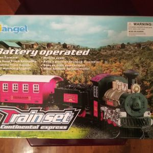 Kimiangel 16 Piece Train Set Battery Operated New for Sale in Pulaski, TN