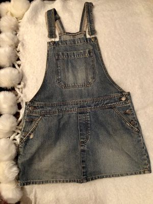 Hollister denim overall dress for Sale in Highland, CA