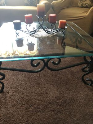 Coffee glass table for Sale in Stockton, CA
