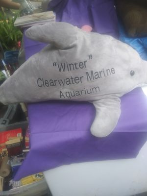 Winter the Dolphin stuffed toy for Sale in Brooksville, FL