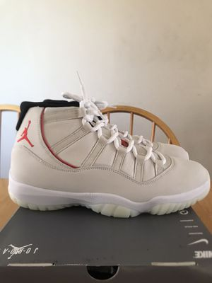 Brand new Nike air Jordan 11 retro platinum tint men's size 12 for Sale in La Mesa, CA