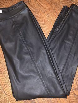 LOFT Brand Women's Faux Leather Pants for Sale in Stroudsburg,  PA