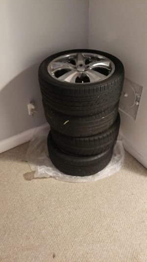 Selling my 19' wheels and tires, 400.. for Sale in UNIVERSITY PA, MD