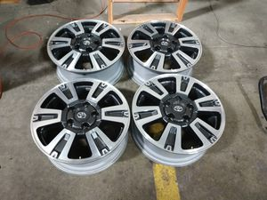 Toyota Tundra platinum wheels 20x8 offset 60 pcd 5x150 for Sale in Ontario, CA