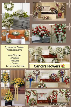 Sympathy Flower Arrangement 💐 for Sale in Rancho Cucamonga, CA