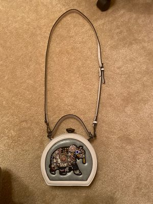 Elephant embroidered small bag with detachable strap for Sale in Cypress, TX