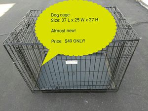 Dog cage (price on the picture!) for Sale in Las Vegas, NV