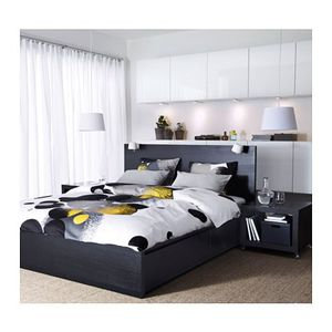 Full Malm highframe and haugsvar bed PICKUPonly for Sale in National City, CA