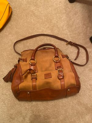 Brown genuine Dooney and Bourke Florentine tote bag for Sale in Cypress, TX