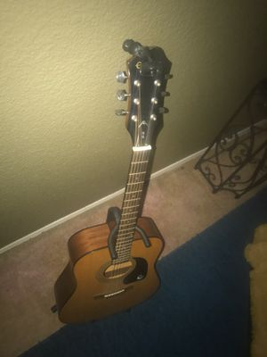 Epiphone PR - 150 Natural Acoustic In Dreadnought Style for Sale in Pittsburg, CA