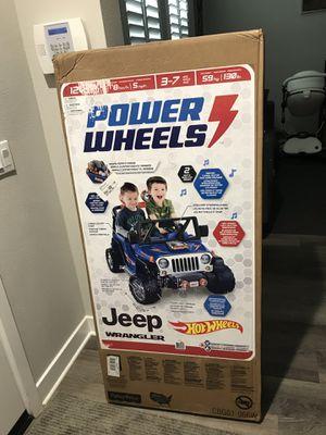 Power Wheels Jeep Hot Wheels for Sale in Glendora, CA