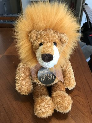 """GUND Lion Plush Doll Pounce DeLion NWT #5039 17"""" for Sale in Taylorsville, UT"""