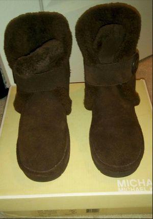 Michael Kors Shearling Boots for Sale in Burlington, NJ