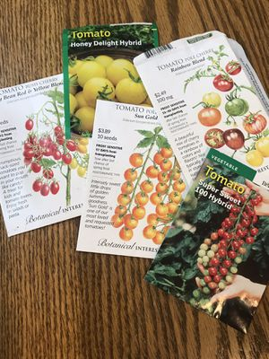 Tomato plants Cherry, Honey Delight,Sun gold and Rainbow for Sale in Colorado Springs, CO