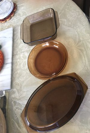 4 pieces Pyrex for Sale in Aurora, CO